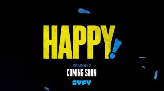 Happy! Season 2: Production Under Way, Blood Confirmed for Second Season