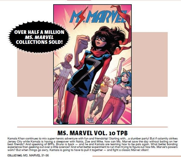 Ms. Marvel Has Sold Half a Million Trade Paperbacks