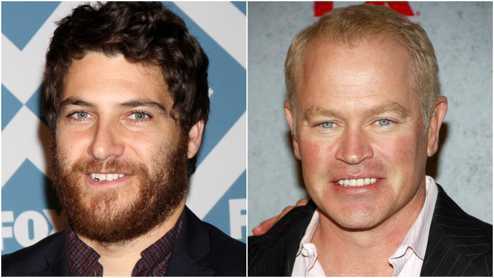 Adam Pally in 2014, Neal McDonough in 2012