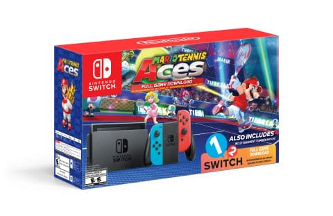 Walmart is Getting an Exclusive Mario Tennis Aces Switch Bundle