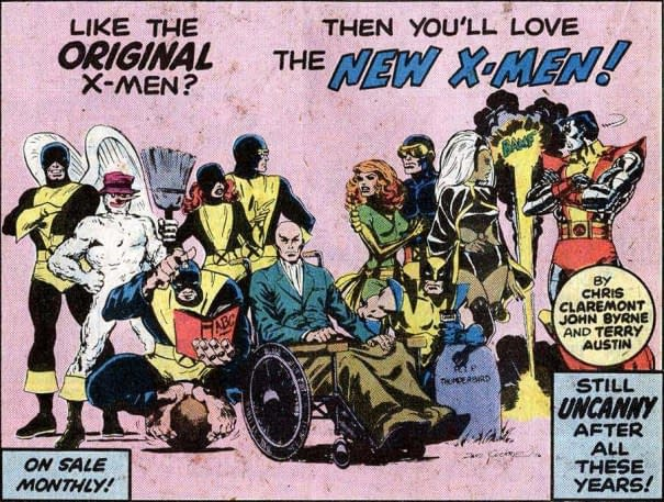 Marvel Recycles 40-Year-Old Dave Cockrum Art for Uncanny X-Men #1 Variant