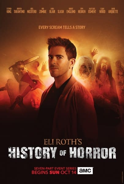 Eli Roth History of Horror Poster