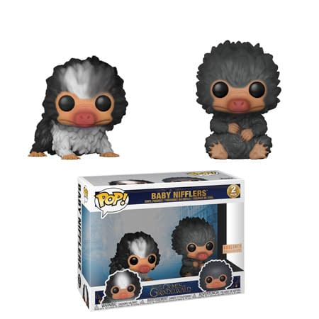 Funko Fantastic Beasts Baby Nifflers Two Pack BoxLunch Exclusive