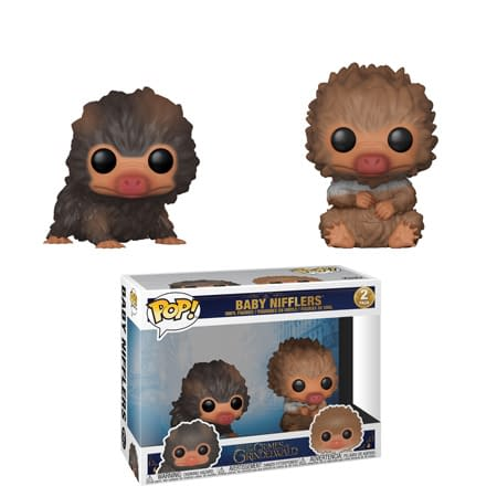 Funko Fantastic Beasts Baby Nifflers two Pack