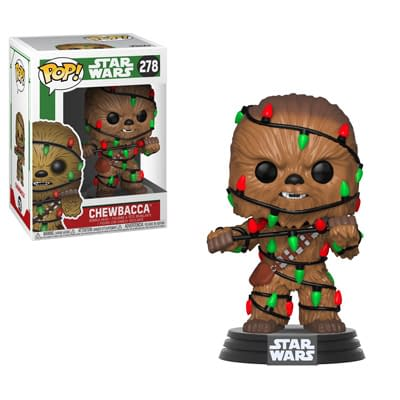 Funko Holiday Star Wars Chewbacca Pop