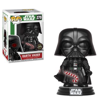 Funko Holiday Star Wars Darth Vader Glow Chase Pop