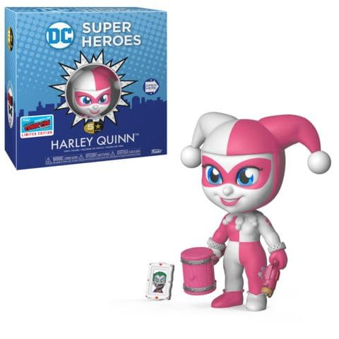 Funko NYCC DC 5 Star Pink and White Harley