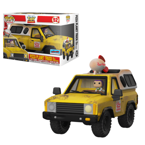 Funko NYCC Toy Story Pizza Planet truck