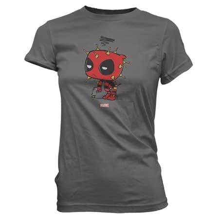 Funko Pop Tees Deadpool 2