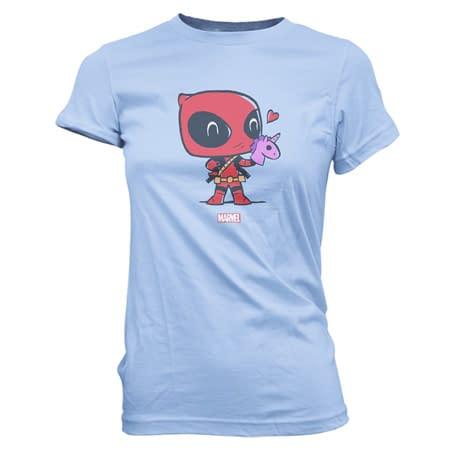 Funko Pop Tees Deadpool