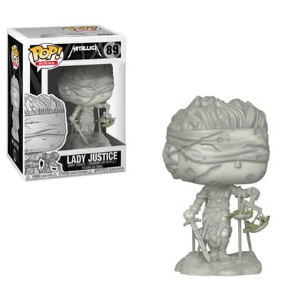 Funko Rocks Metallica Lady Justice