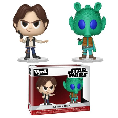 Funko Star Wars Vynl Pack Han and Greedo