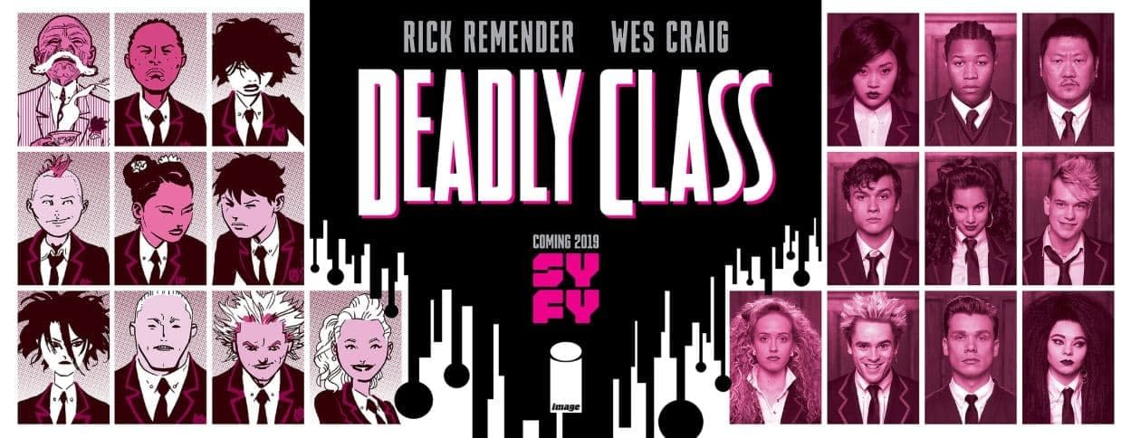 'Deadly Class' in Session: SYFY Offers Viewers a Behind the Scenes Orientation