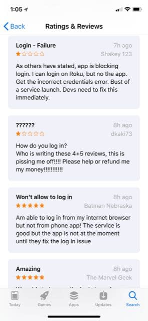 DC Universe Streaming App Dragged Down in Reviews by iOS Login Issues