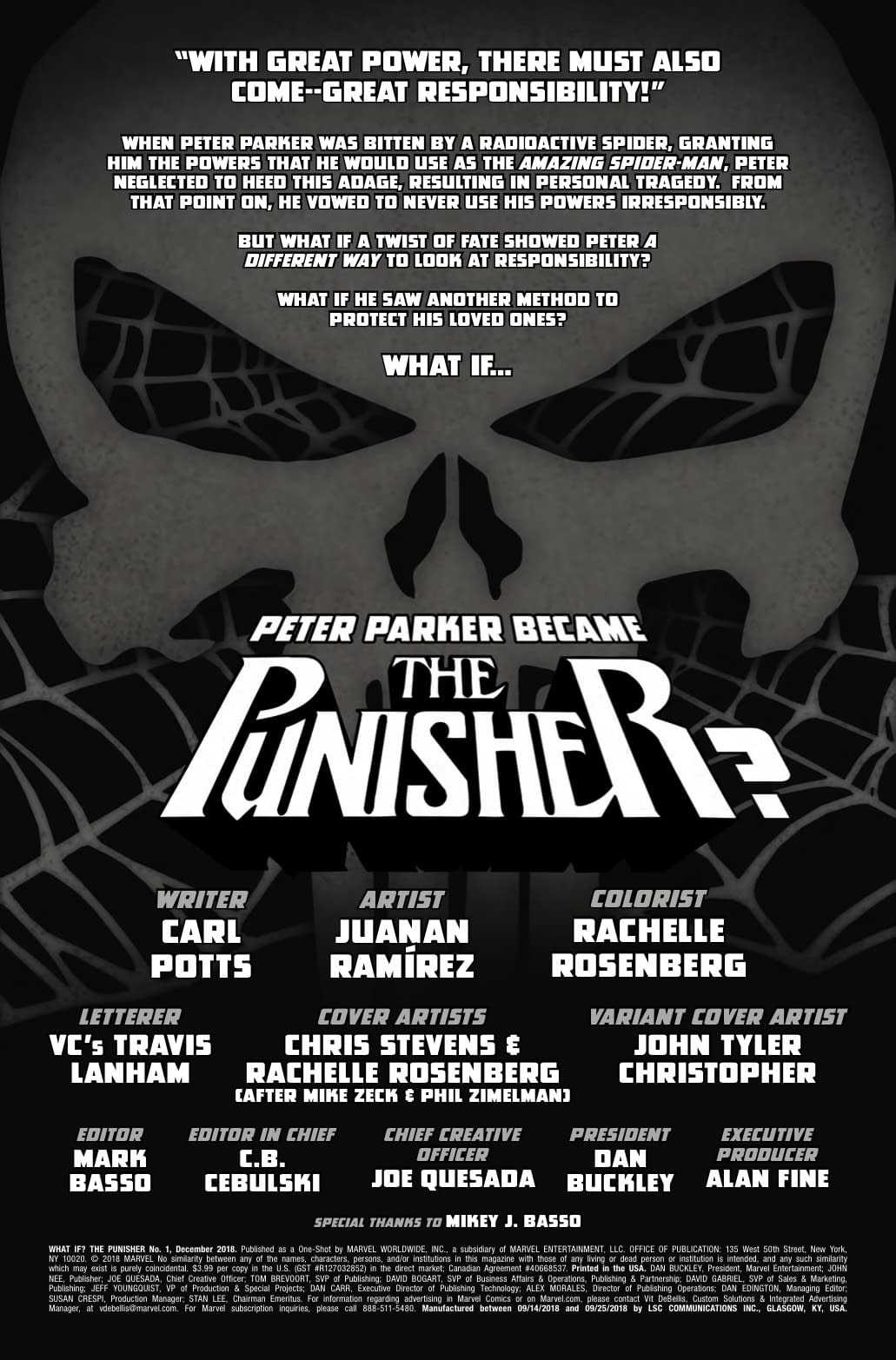Is What If? Punisher Basically the Snyder Cut of Spider-Man?