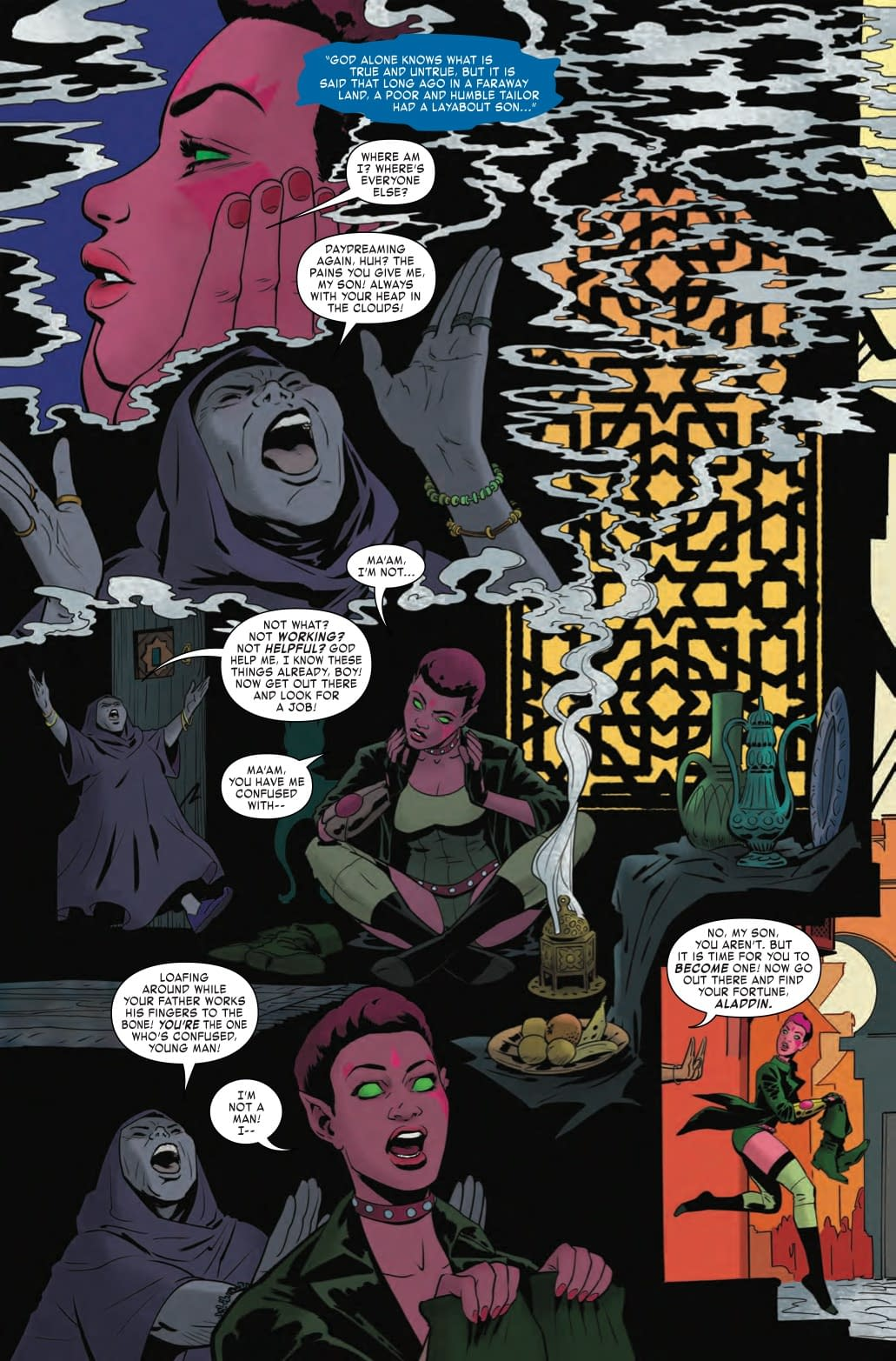 It's Time for Blink to Become a Man in Exiles #9 Preview