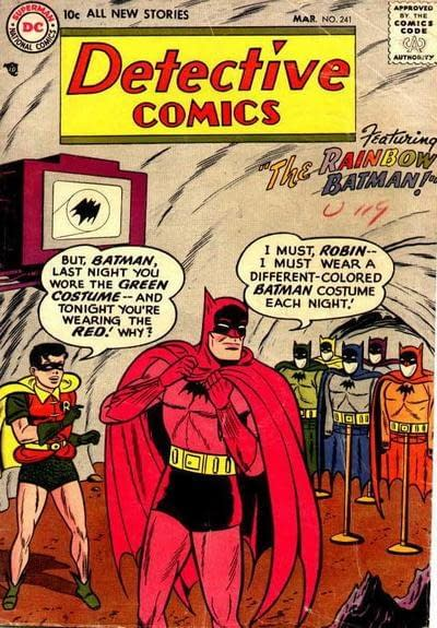Rainbow Batman Pins From WizKids/NECA on Free Comic Book Day 2019