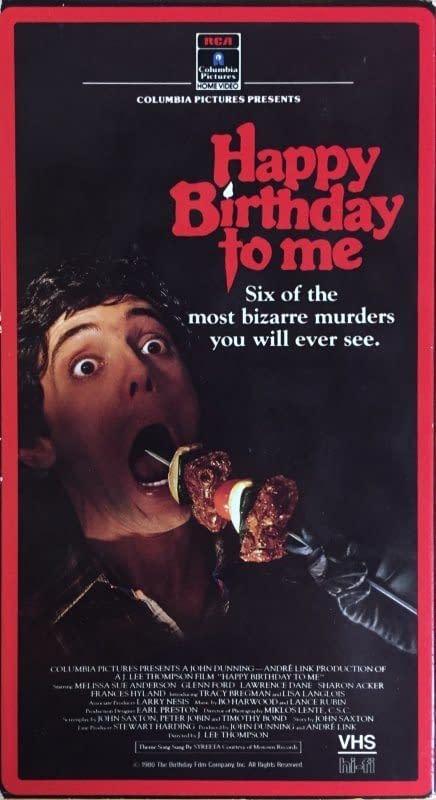 Happy Birthday to Me VHS