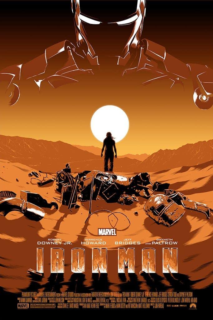 Mondo Marvel Studios 10 Anniversary Iron Man by Koehler