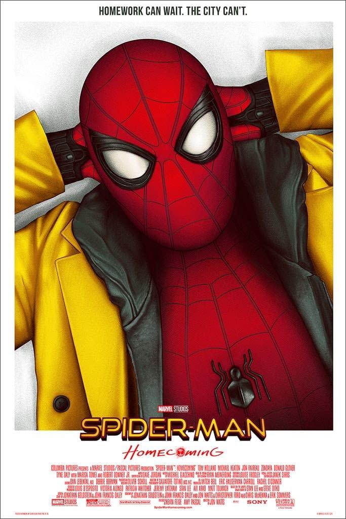 Mondo Marvel Studios 10 Anniversary Spider-man Homecoming by Deck