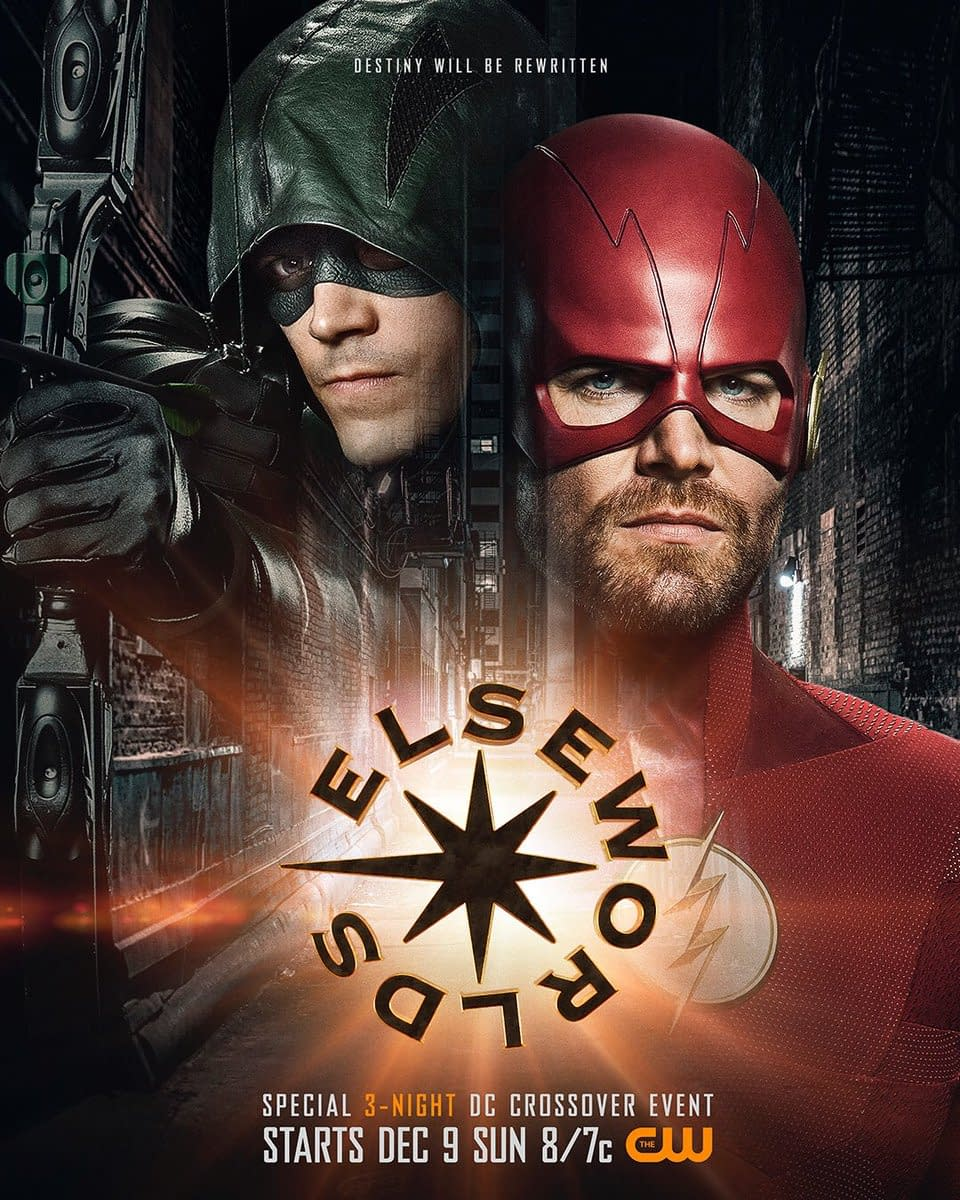 Arrowverse Crossover Elseworlds: First Look at Lois Lane, Black Suited Superman, and a Poster