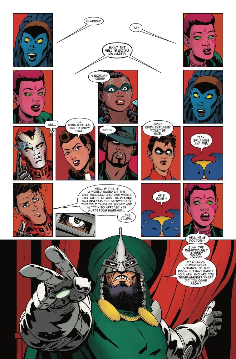 Next Week's Exiles #10 Reveals What It's Like to Be Married to Doom
