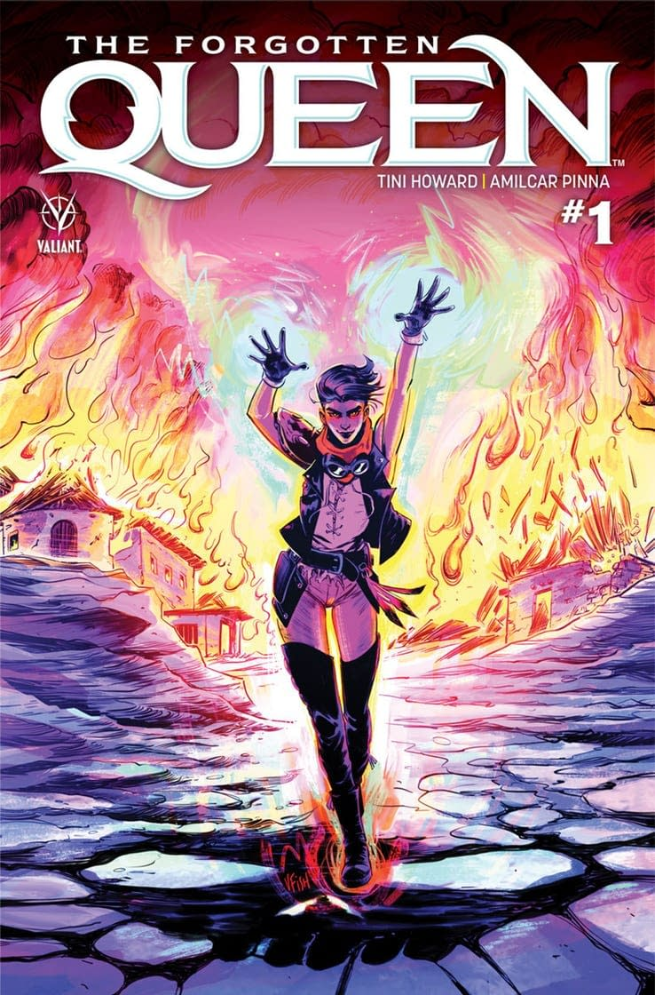 Tini Howard and Amilcar Pinna Bring Back War-Monger for Valiant's 'The Forgotten Queen'
