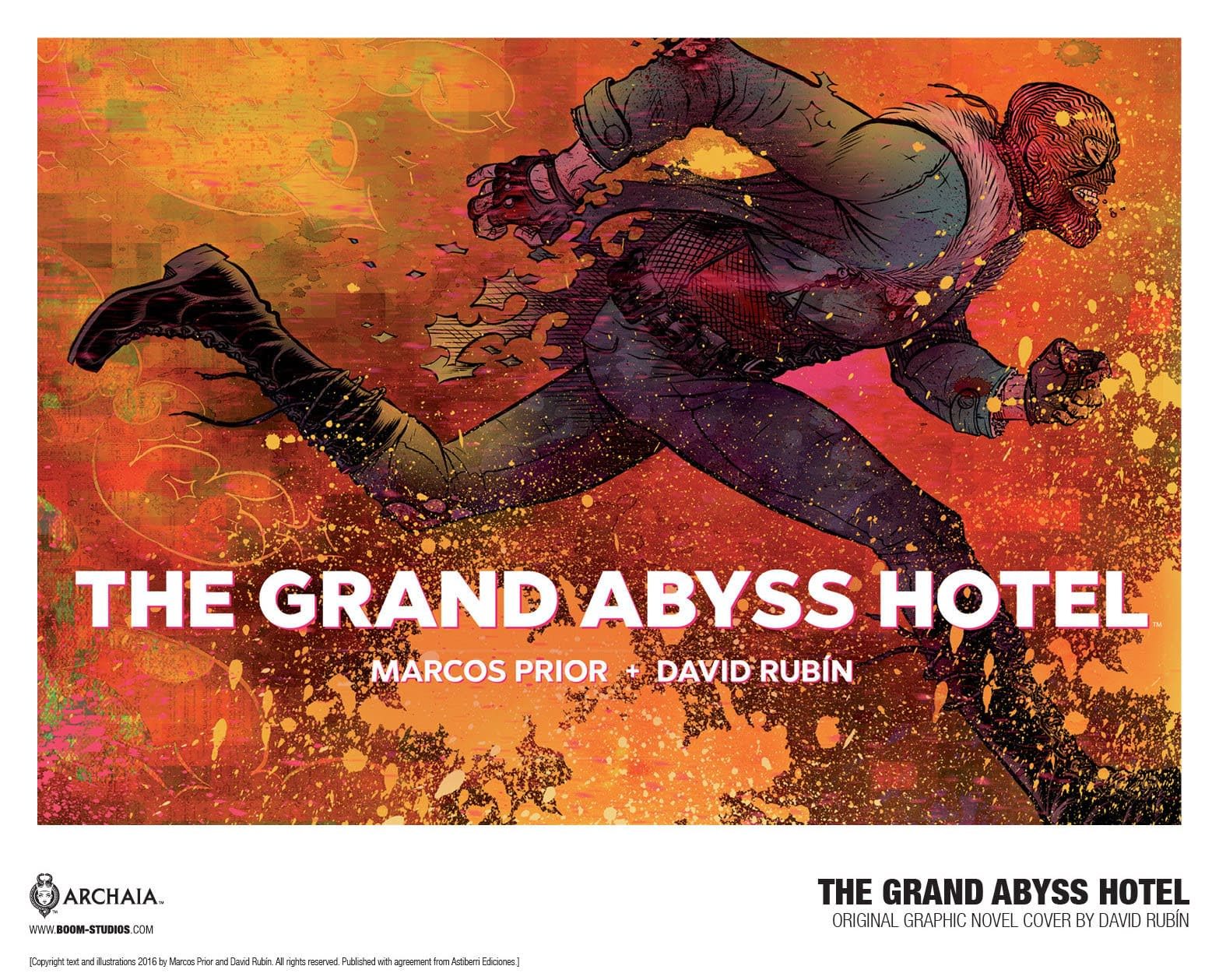 New OGN Grand Abyss Hotel Explores Rebellion in a World Overrun by Big Business and Fake News