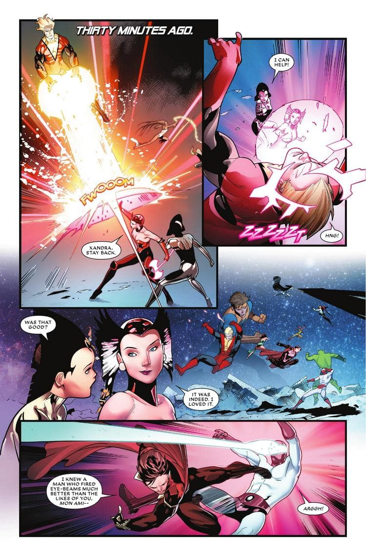 Gambit Remembers Cyclops in Next Week's Mr. and Mrs. X #5