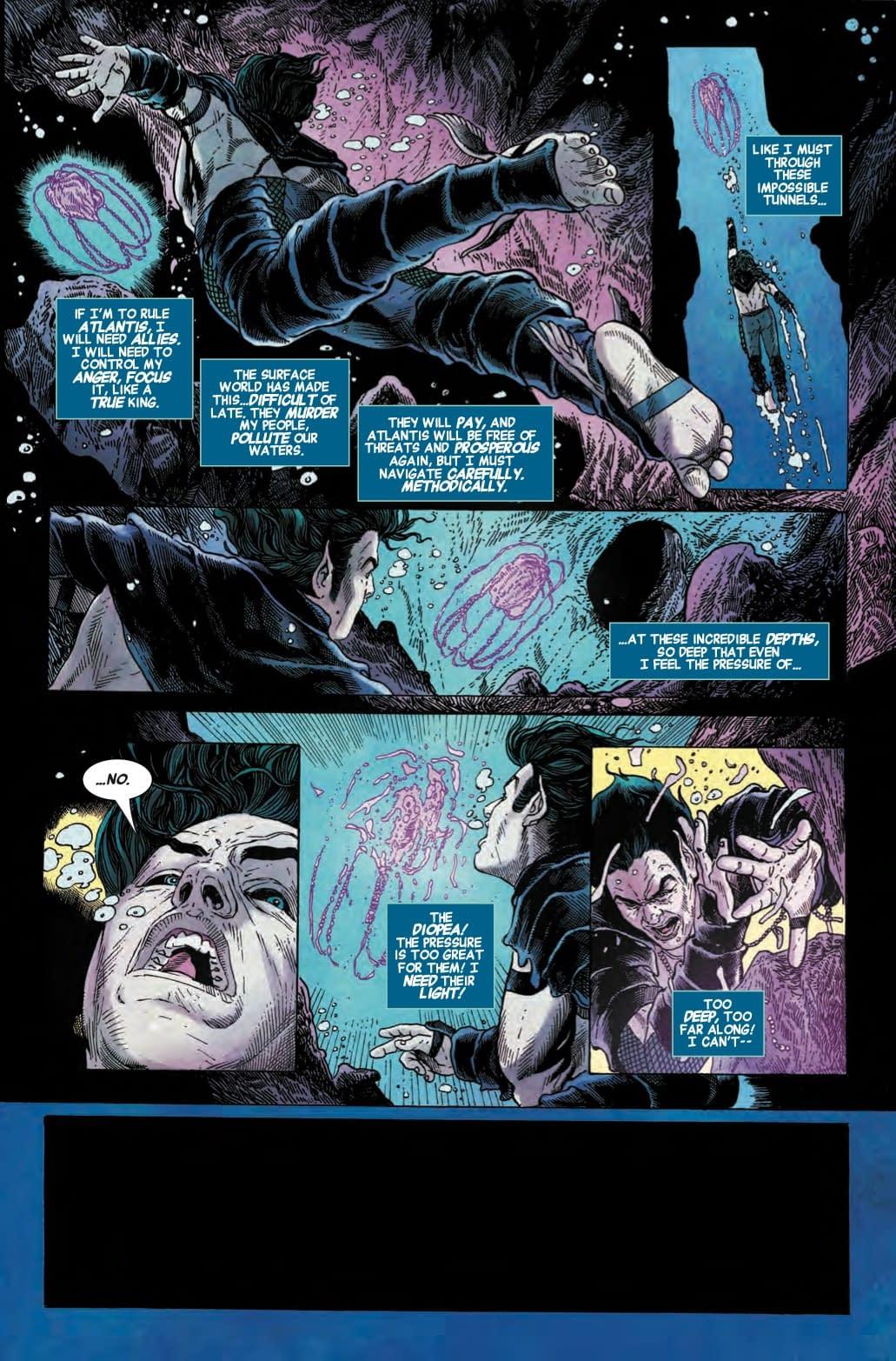 Namor Takes on Immigration Reform in The Best Defense: Namor #1
