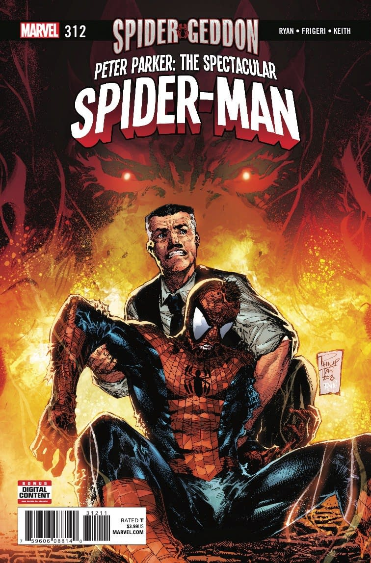 Morlun Ranks Marvel's Spider-Men in Next Week's Peter Parker: Spectacular Spider-Man #312