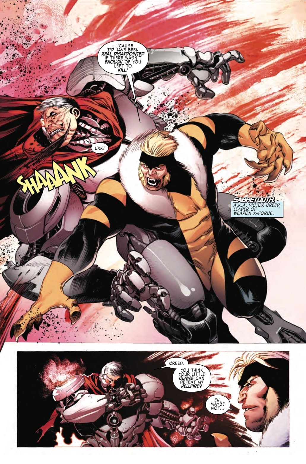 William Stryker Finds His Final Form in Next Week's Weapon X #25?