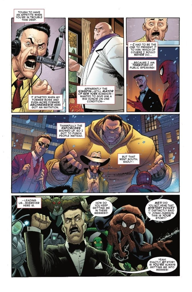 J. Jonah Jameson, This is Your Life! Next Week's Amazing Spider-Man #12