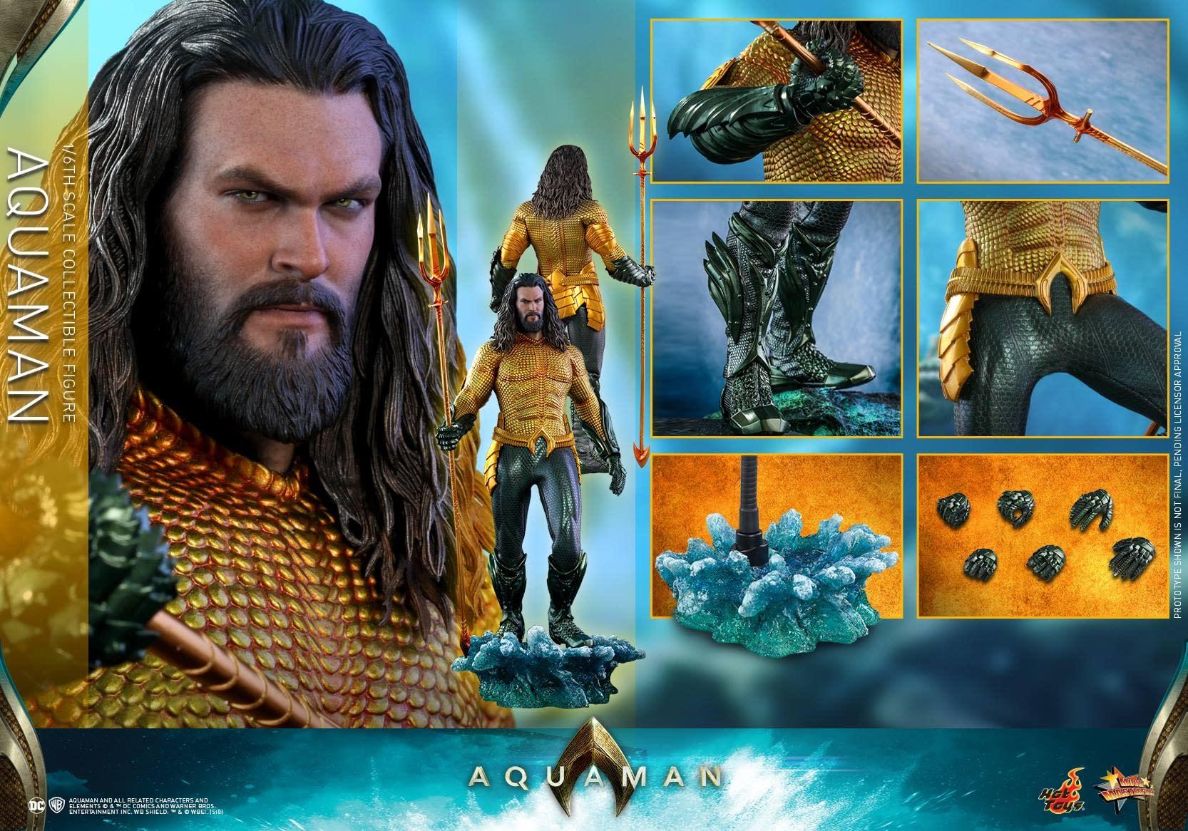Aquaman Hot Toys 9