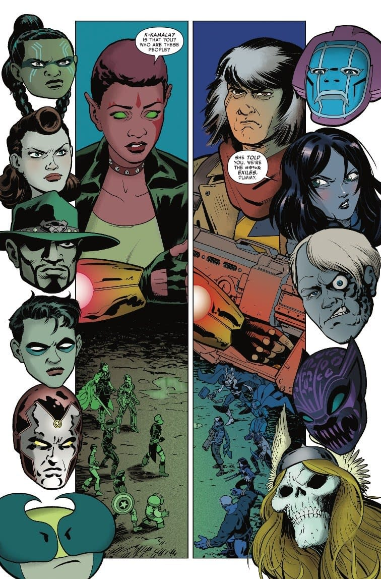 Exiles No More! Series to End with January's Exiles #12