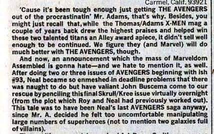 'Neal Adams Is Full Of Crap' – Roy Thomas Refutes Claims About the Kree/Skrull War