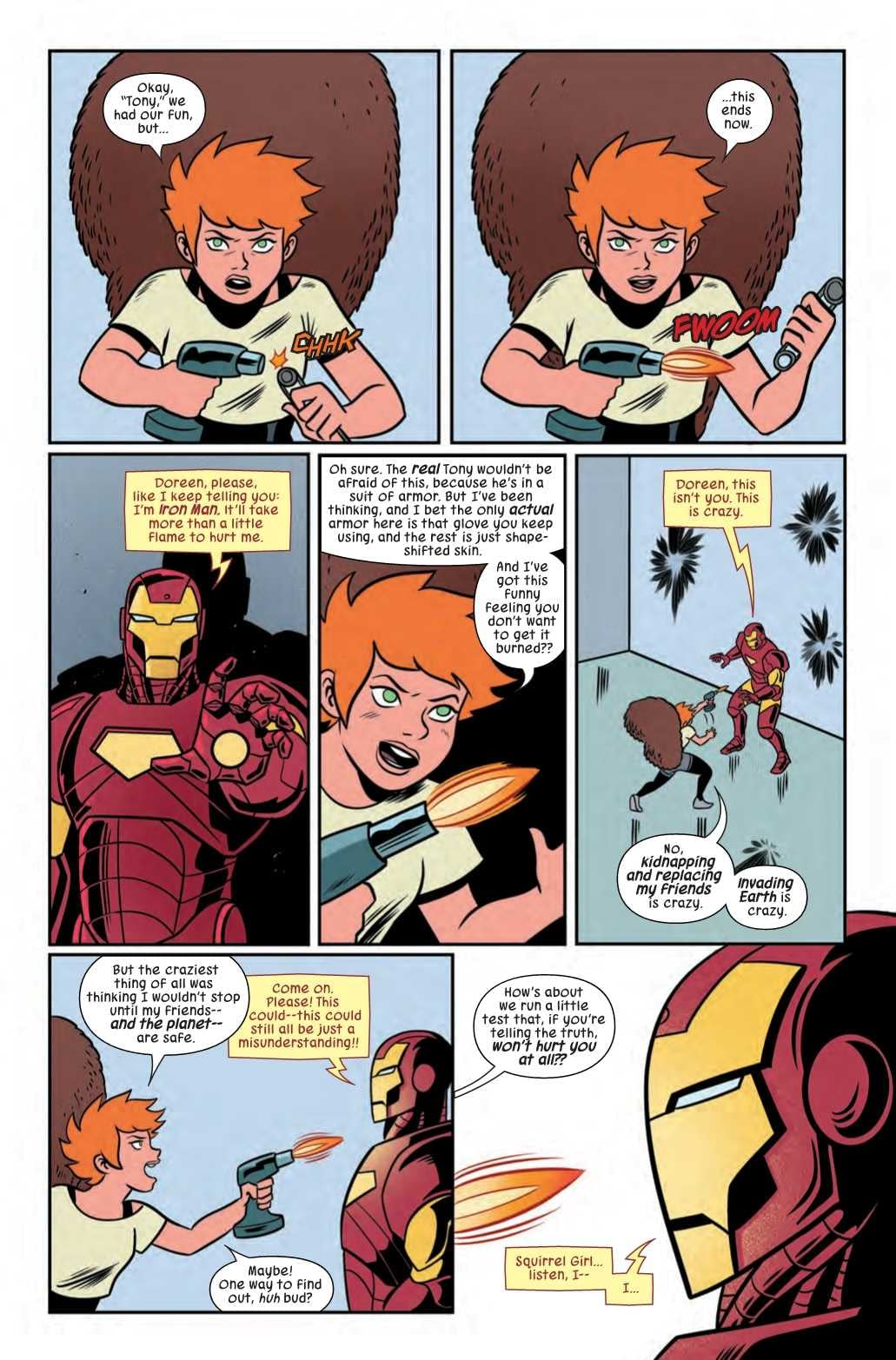 Startling Facts About Fish Pee Revealed in Next Week's Unbeatable Squirrel Girl #39