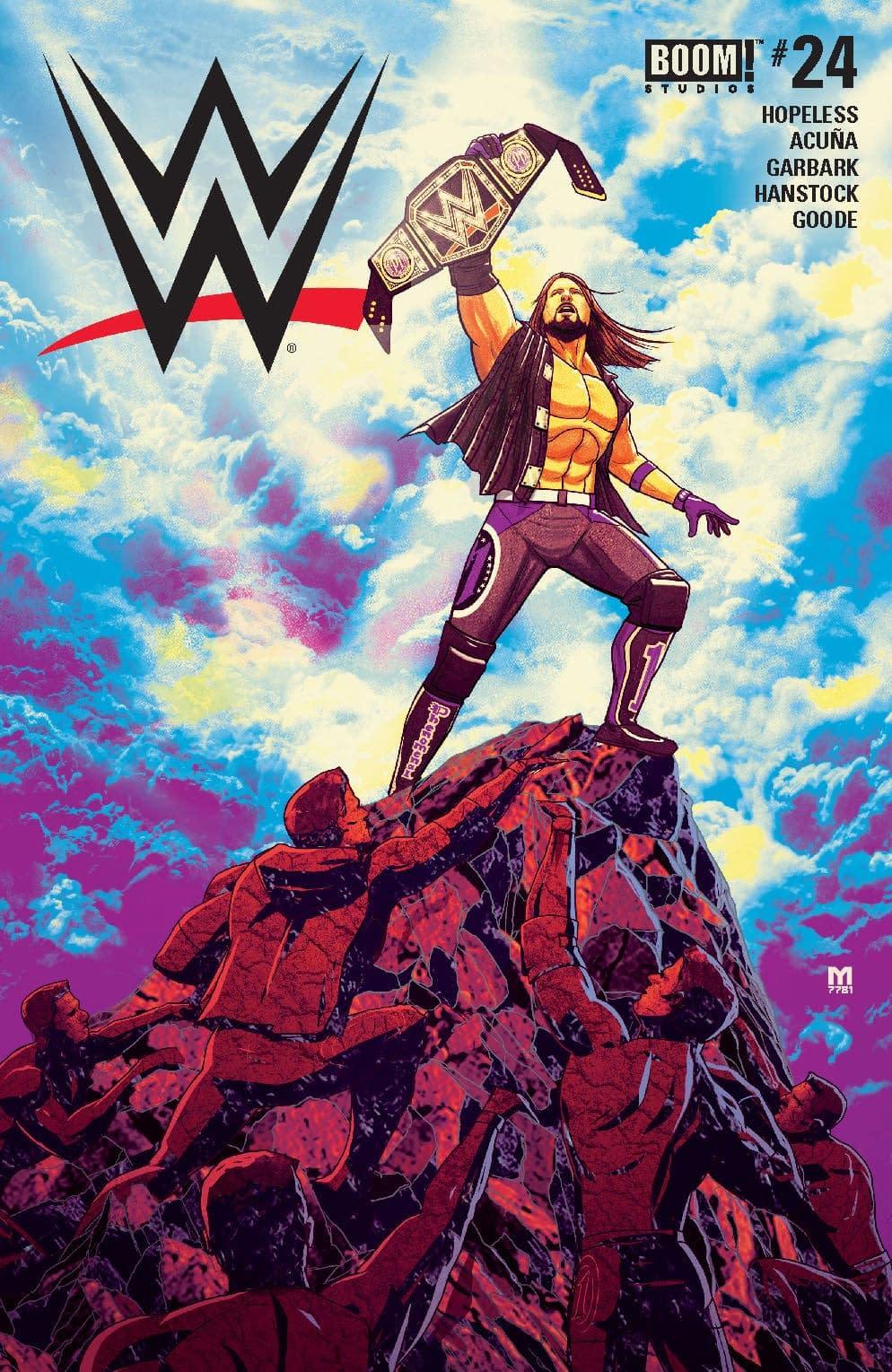 Shinsuke Nakamura Has an Impossible Dream in Next Week's WWE #24