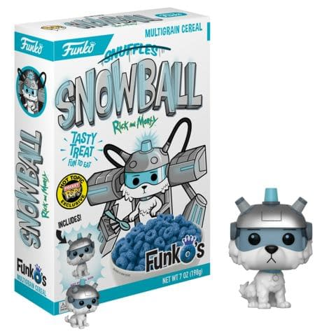 Funko Cereal Rick and MOrty Snowball