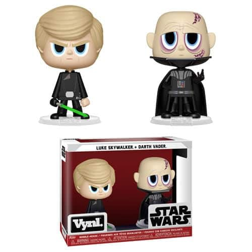 Funko Star Wars Vynl Luke and Vader