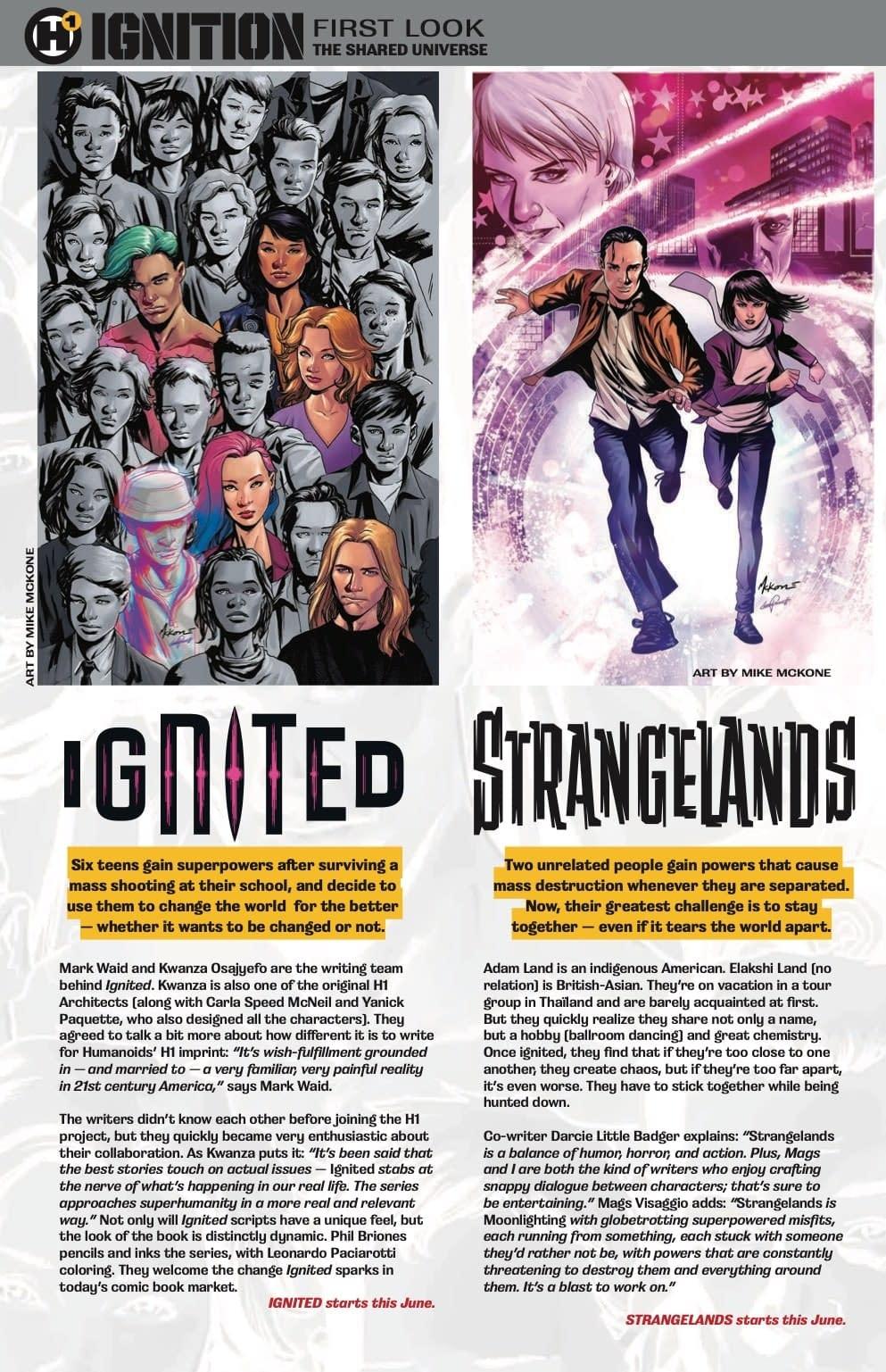 Magdalene Visaggio, Darcie Little Badger, & Khoi Pham Join Humanoids H1 with Strangelands