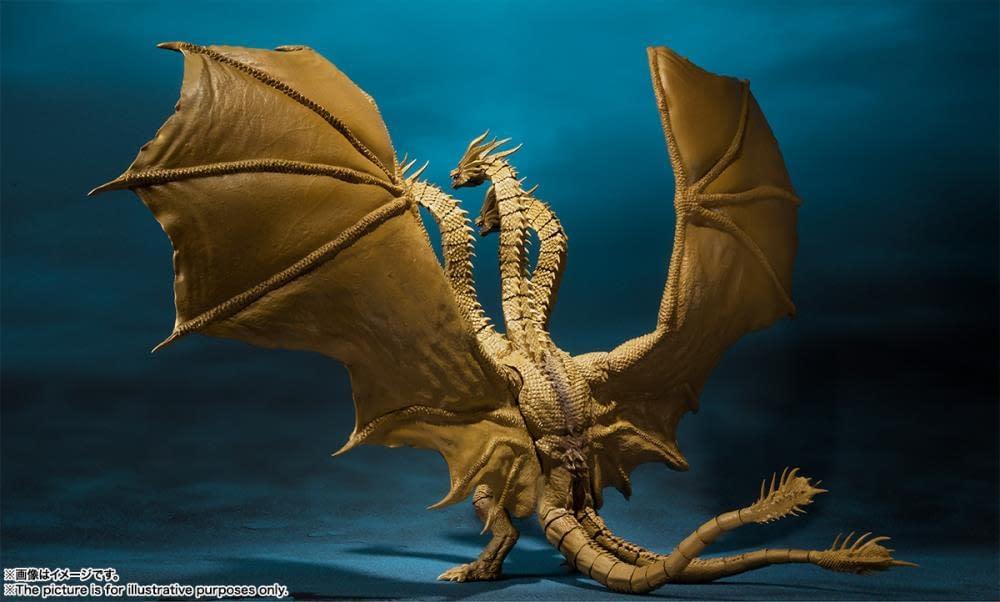 SH MonsterArts Godzilla King Ghidorah 5