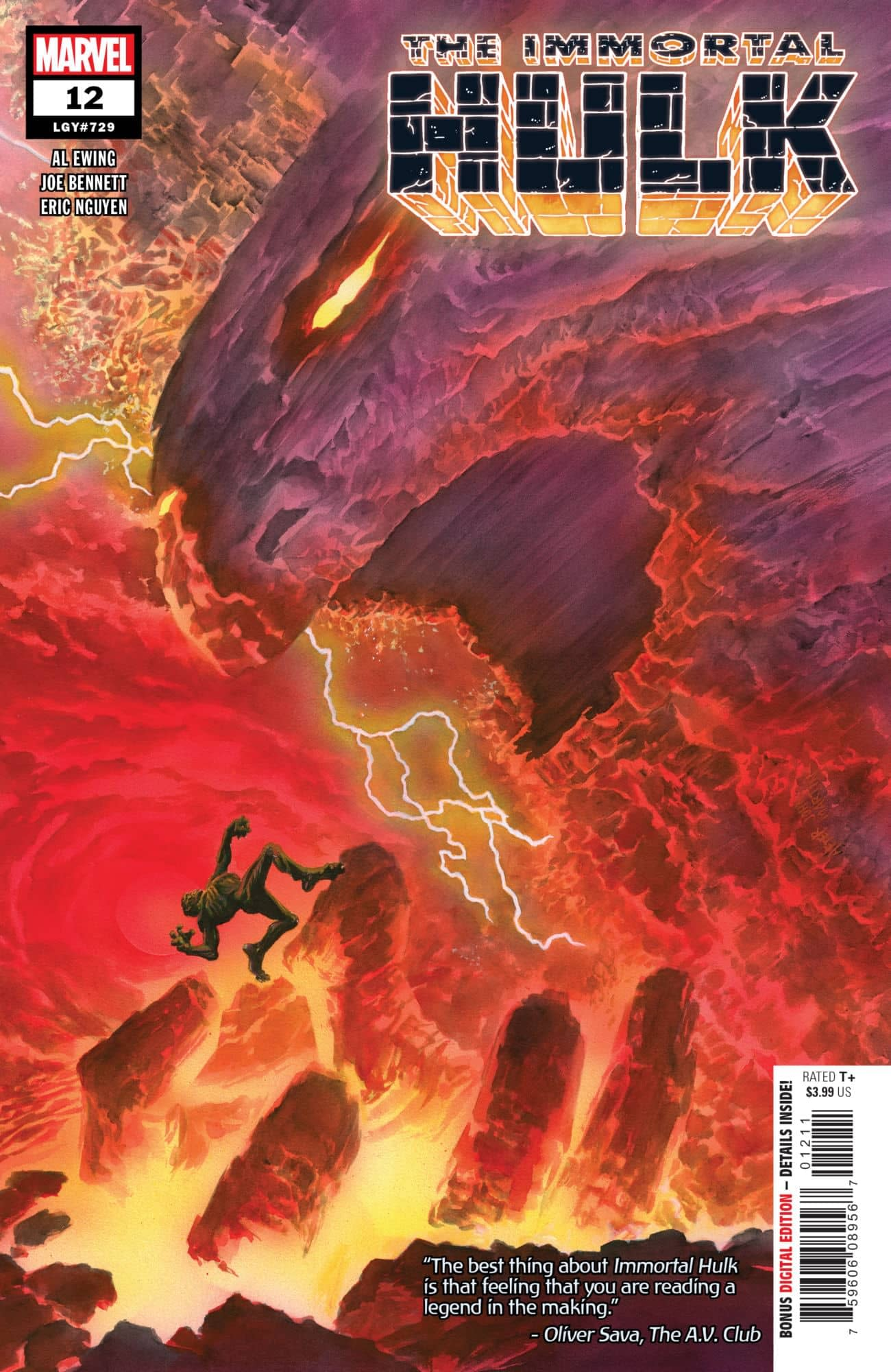 Bruce Banner's Hell is Daddy Issues in Next Week's Immortal Hulk #12