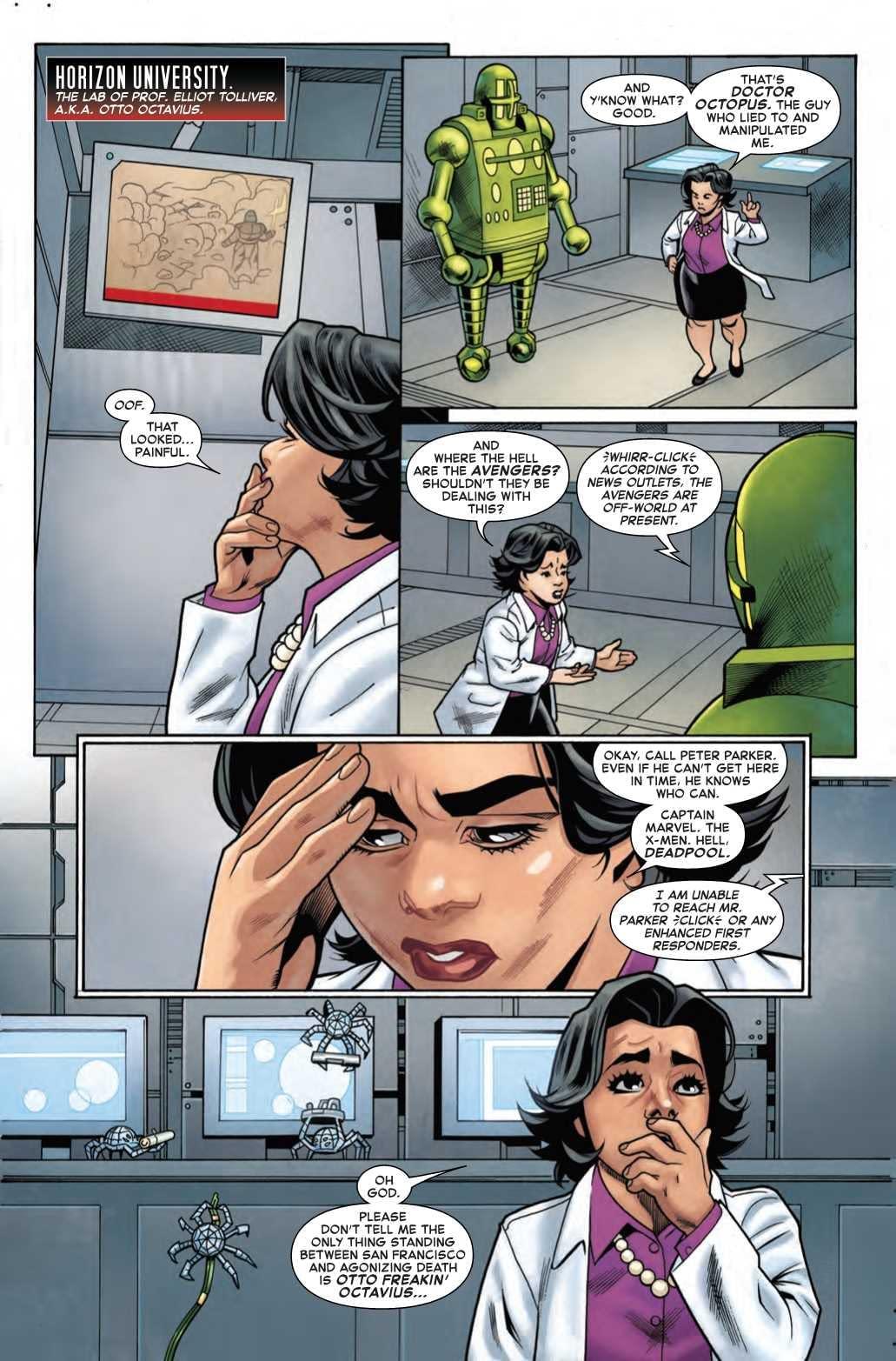 Thanks, Continuity Bot! Next Week's Superior Spider-Man #2