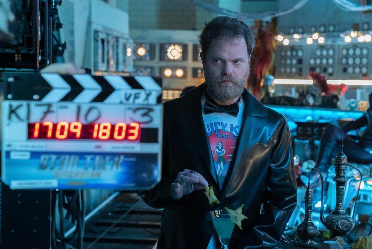 'Star Trek: Discovery' – Rainn Wilson Offers Major Clue About Red Angel Identity [ECCC 2019]