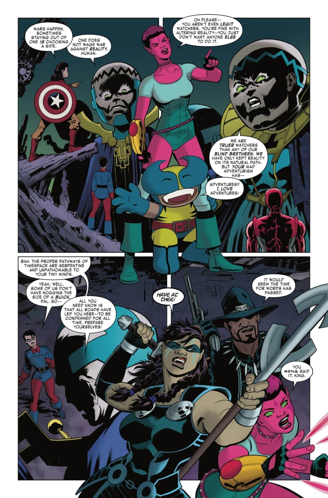 Head-Shaming the Watchers in Next Week's Exiles Finale