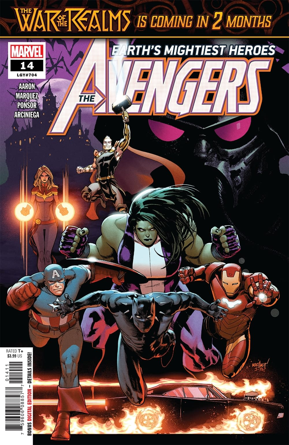 Blade Has Had It with These Mother@#$%ing Vampires on This Mother@#$%ing Plane in Next Week's Avengers #14