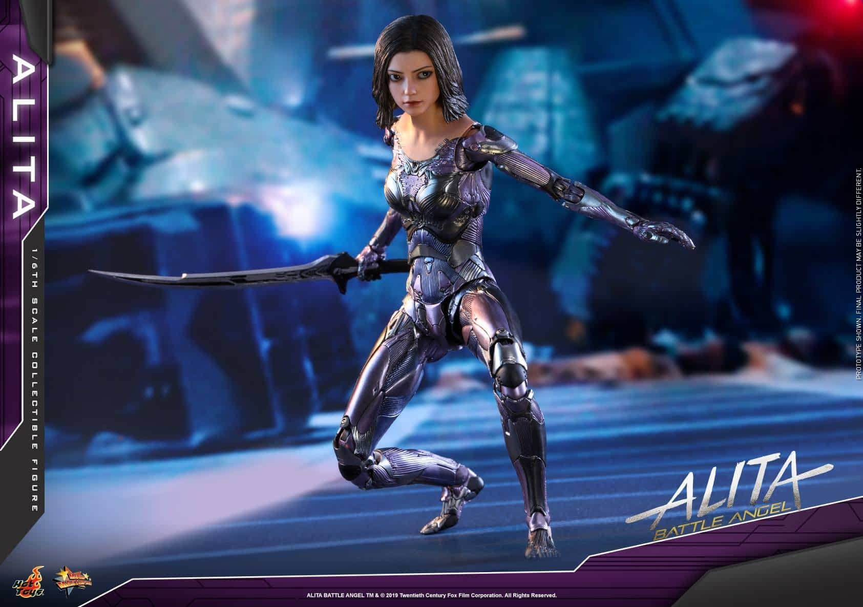 Alita Battle Angel Hot Toys 2
