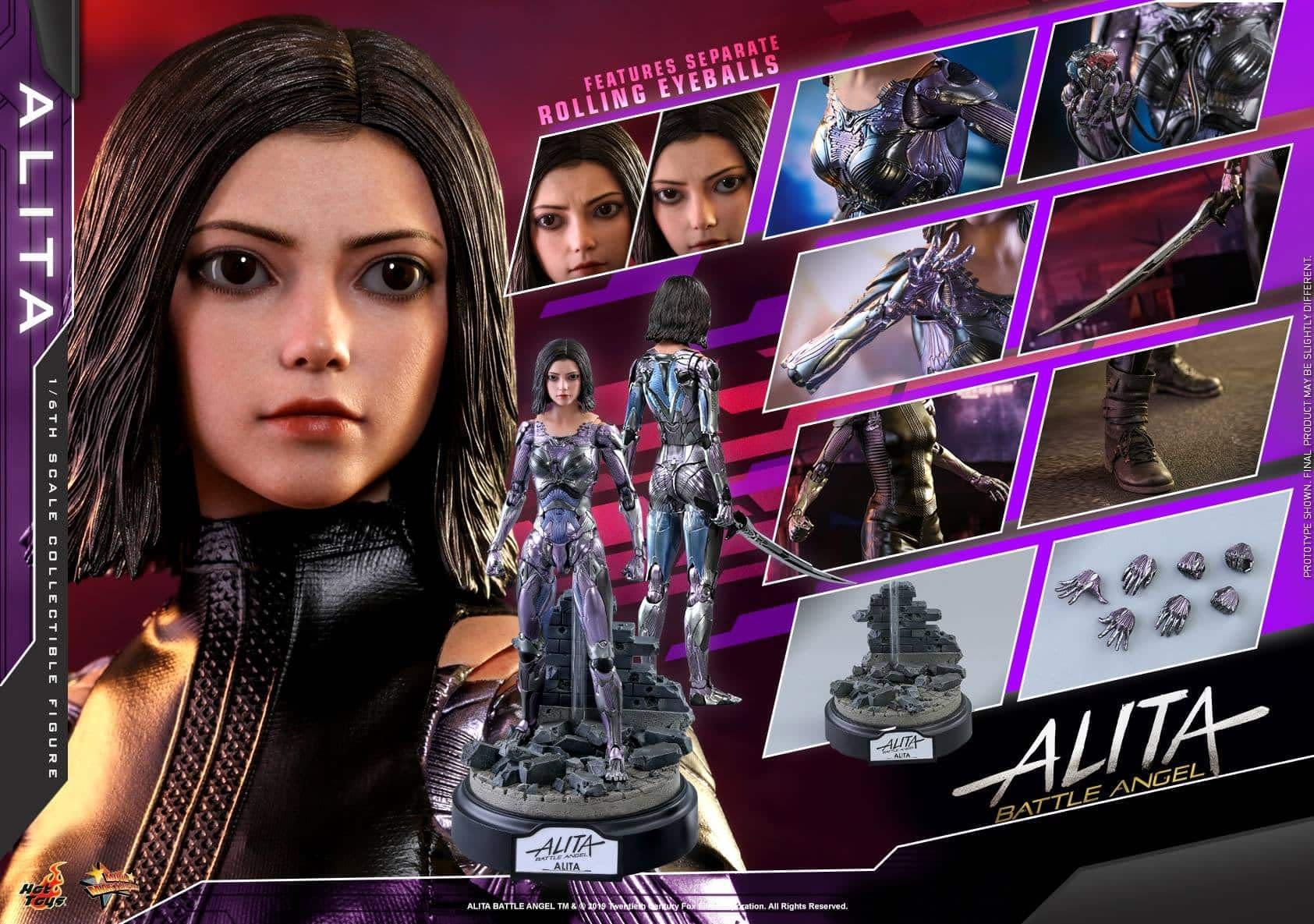 Alita Battle Angel Hot Toys 22