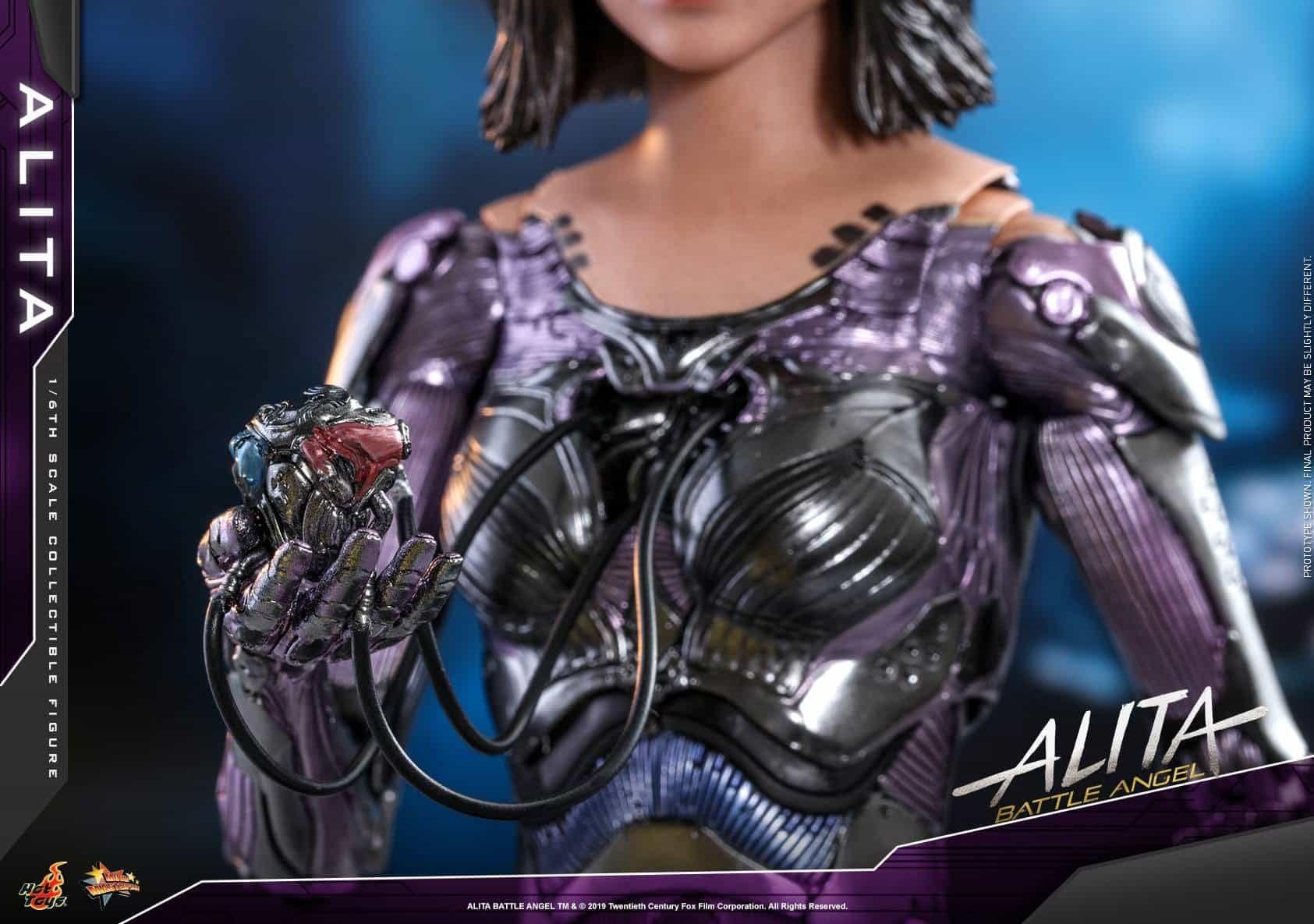 Alita Battle Angel Hot Toys 6